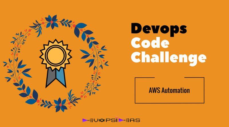 Devops Code Challenge
