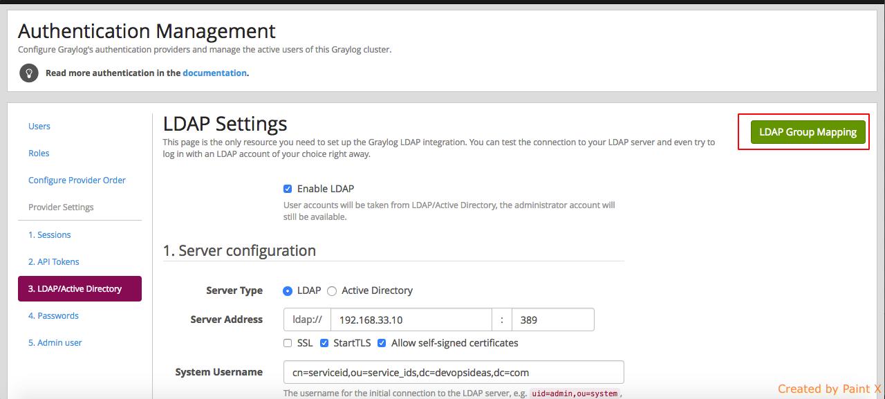 Graylog LDAP - graylog - 7