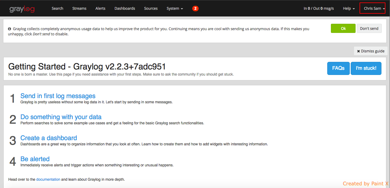 Graylog LDAP verification - 2
